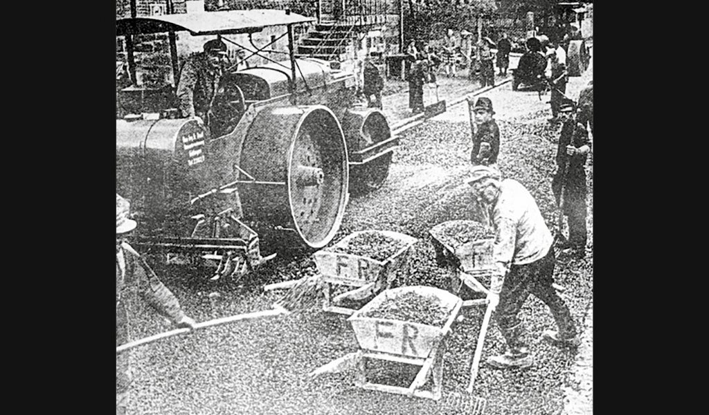 Historie, Straßenbau 2