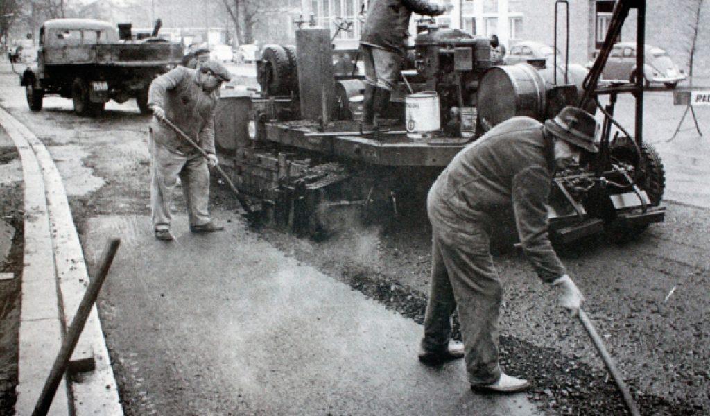 Historie, Straßenbau