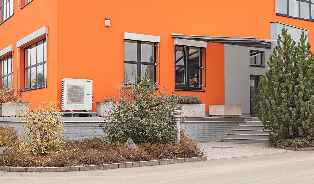 Umbau-Firmengebäude