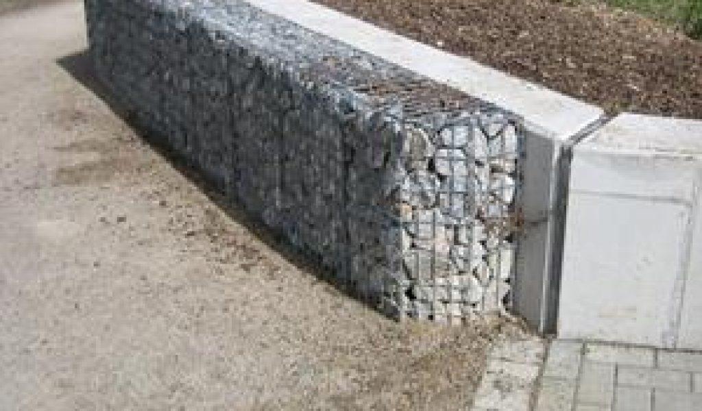 Betonbau - Gabionen - Hochwasserschutz