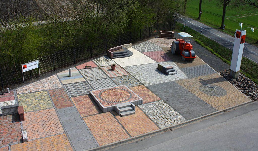 Pflasterflächen-Bauhof RST