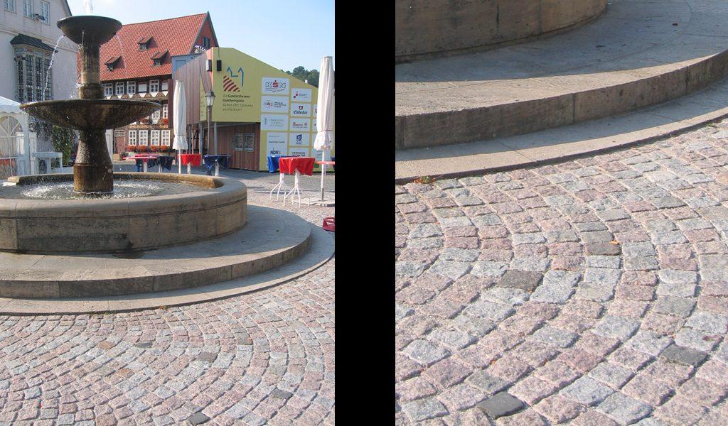 Historisches Pflaster / Bad Gandersheim